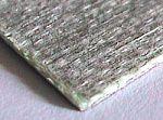fibreglass laminated